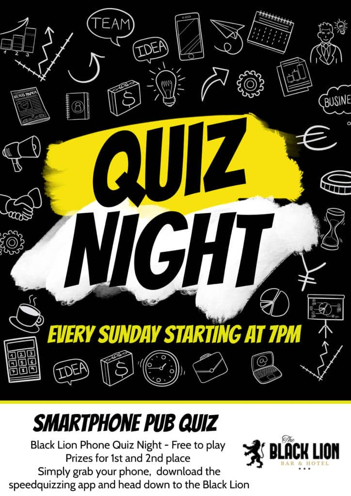 Quiz Night Black Lion