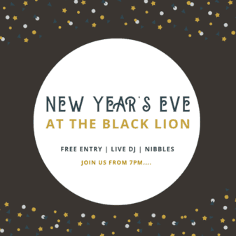 NYE at The Black Lion