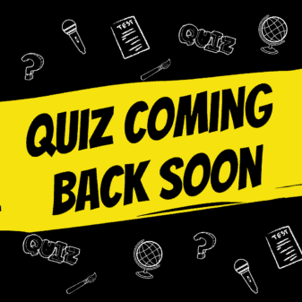 Quiz coming back soon